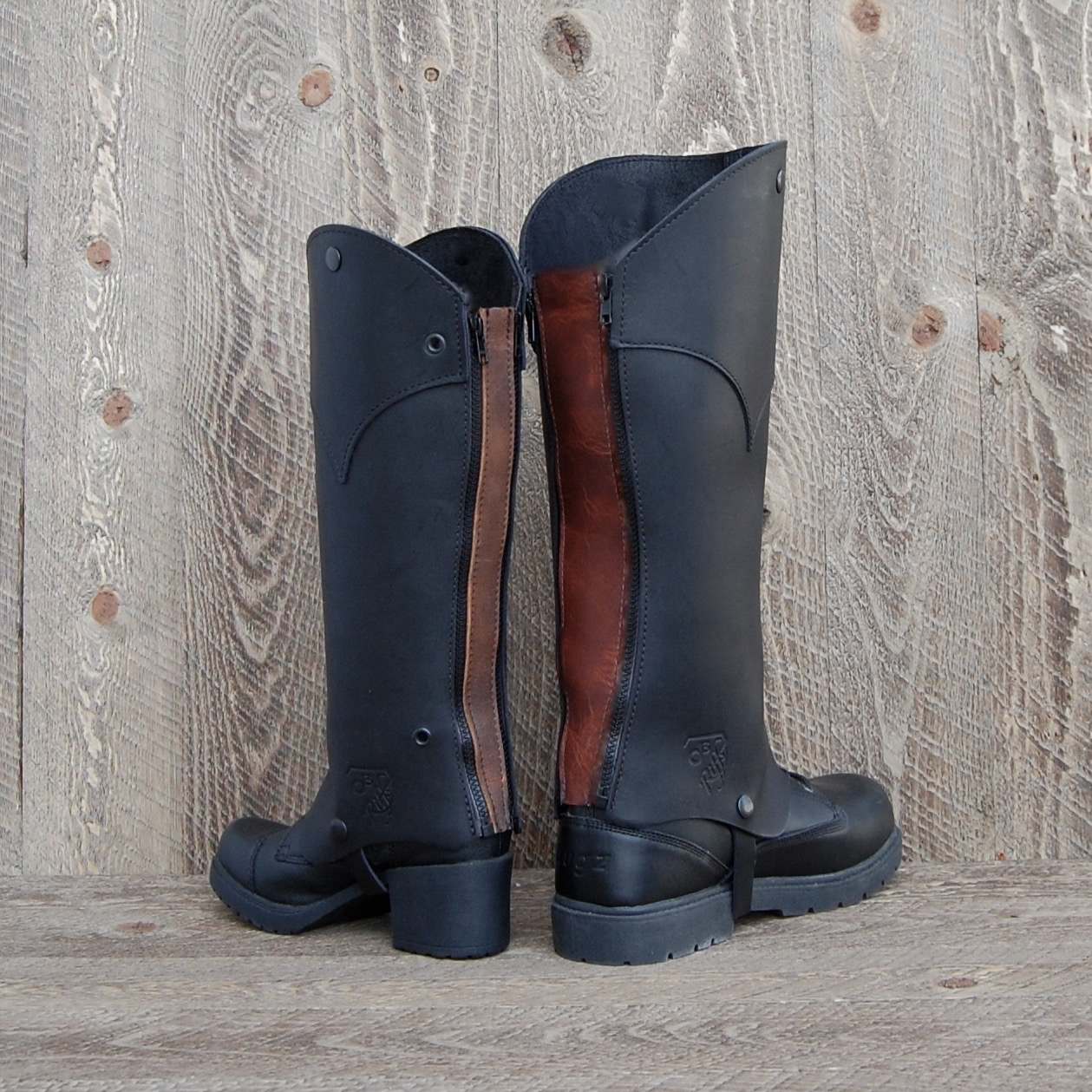 Extenders zip in easily and are available in all leathers as accessories